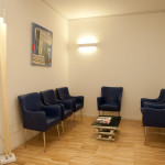 Sala di attesa annessa alla sala operatoria ed alla sala conferenze