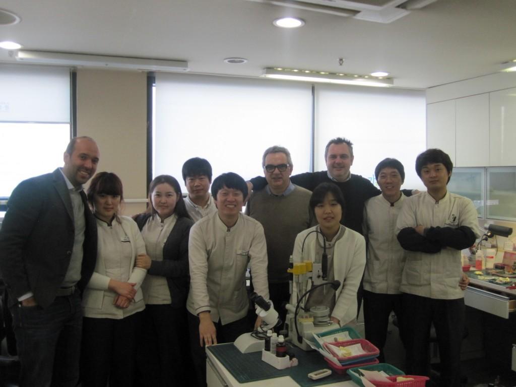 ABCDental e AFE Lab at GAON Dental Hospital, Seul Cheonan, Korea